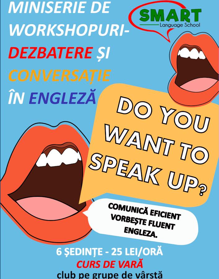 Curs de limba engleza de conversatie
