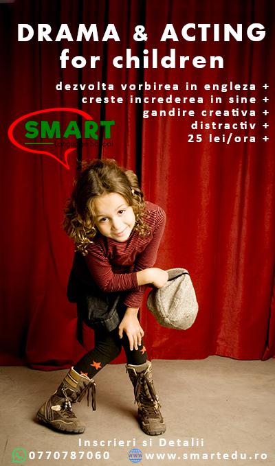 Curs de actorie pentru copii
